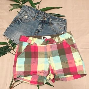 Justice Jean Shorts and SO Bundle